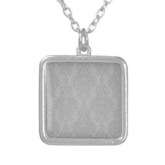 Abstract seamless arabic pattern pendants