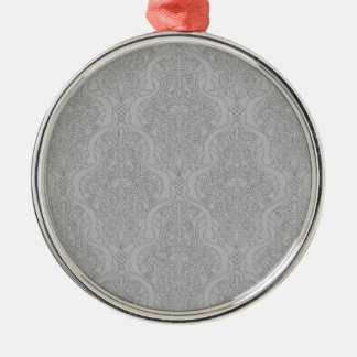 Abstract seamless arabic pattern christmas tree ornament