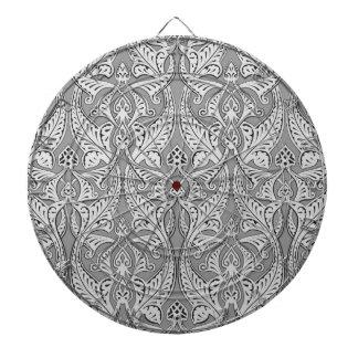Abstract seamless art nouveau pattern dart boards