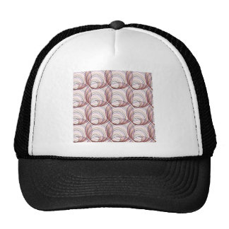 Abstract Seamless Geometric Background from Ellips Trucker Hat