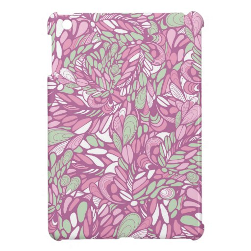 Abstract seamless pattern case for the iPad mini