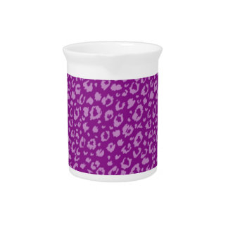 Abstract seamless pattern,purple 03 drink pitchers