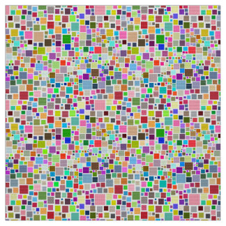 Abstract seamless squares fabric
