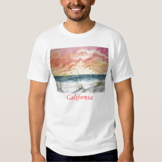 abstract_seascape_large, California T Shirt