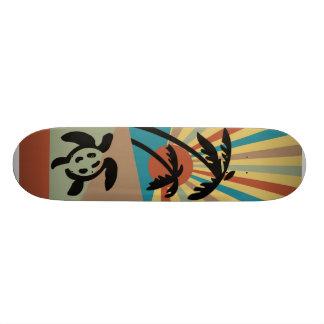 Abstract Seascape Skateboard