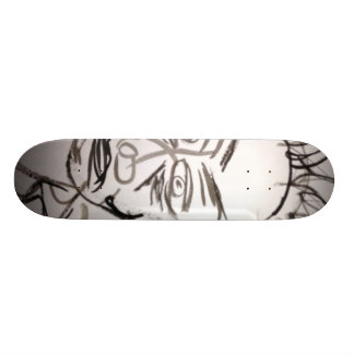 Abstract Separation Custom Skateboard
