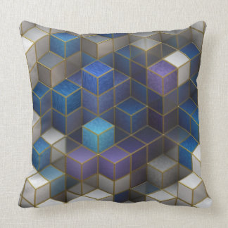 Abstract series 12. throw pillow