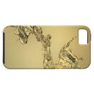 Abstract Shape Formed by Splashing Water iPhone 5 Case