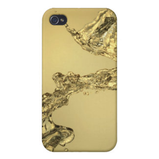 Abstract Shape Formed by Splashing Water iPhone 4/4S Case