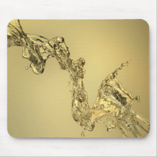 Abstract Shape Formed by Splashing Water Mouse Pad