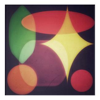 Abstract Shapes Acrylic Print