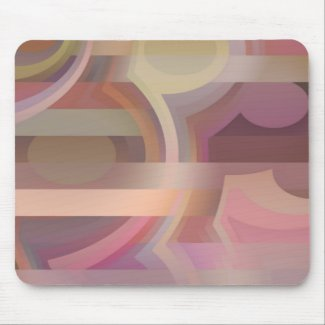 Abstract Shapes and Lines mousepad