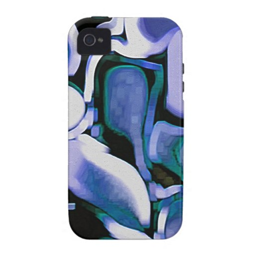 Abstract Shapes Case For The iPhone 4