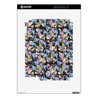 Abstract Shapes Collage iPad 2 Skin