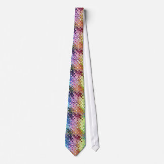 Abstract Shapes Doodle Neck Tie