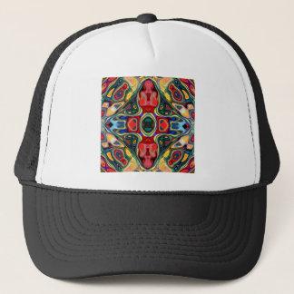 Abstract Shapes Mandala Trucker Hat