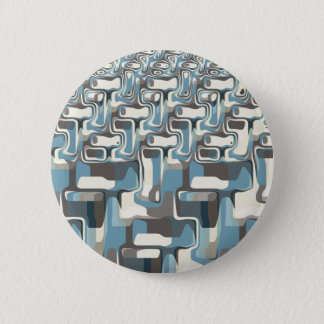 Abstract Shapes Metamorphosis Button