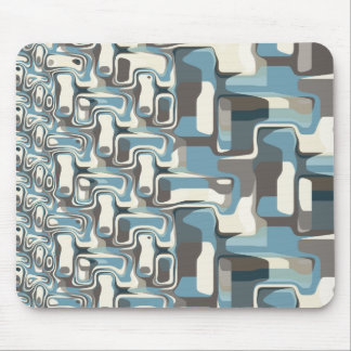 Abstract Shapes Metamorphosis Mouse Pad