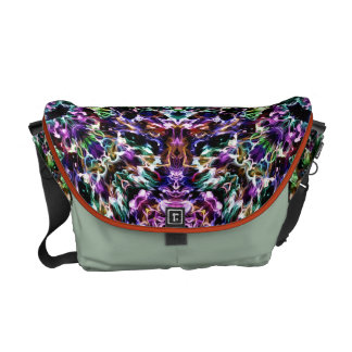 Abstract Shapes of Color Messenger Bag