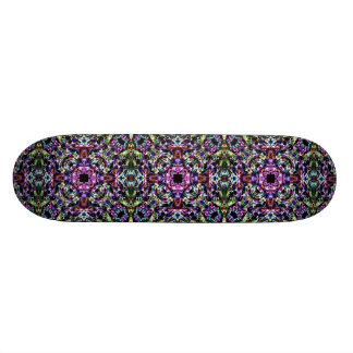 Abstract Shapes of Color Skateboard Deck