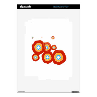 Abstract shapes skin for iPad 2