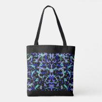 Abstract Shoulder Handbag Fantasy Colors