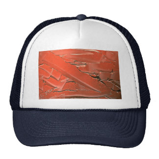 Abstract Sienna oil paint texture Trucker Hat