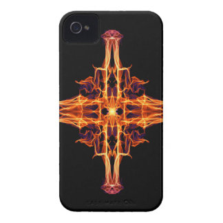 Abstract Sigil Symbol for Fortitude - Geometry iPhone 4 Case