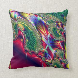 Abstract Silk Fabric Pillow