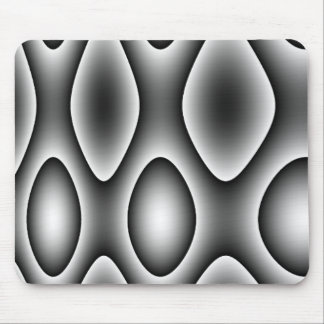 Abstract Silver Design Mouse Pad