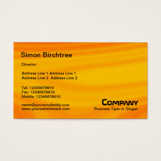 Abstract - Situation Orange Business Card