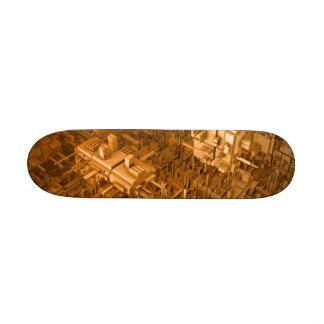 Abstract Skate Design Custom Skateboard