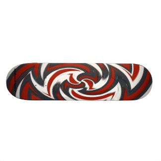 Abstract Skateboard Deck