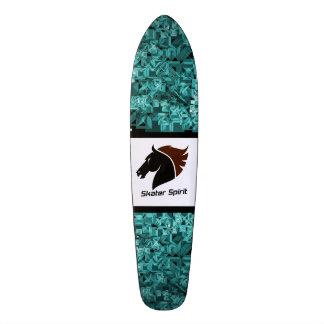 """Abstract skateboard deck """"Skater Spirit """""""