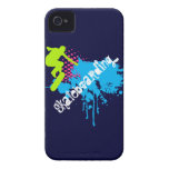Abstract skateboarding iPhone 4 covers