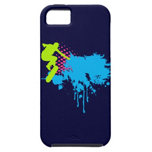 Abstract skateboarding iPhone 5 covers