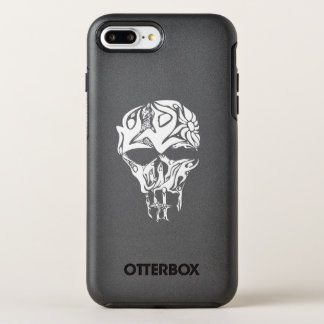 Abstract Skull Artwork, formed buy people and flow OtterBox Symmetry iPhone 8 Plus/7 Plus Case