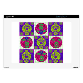 Abstract Skull Pattern Design Decal For Laptop