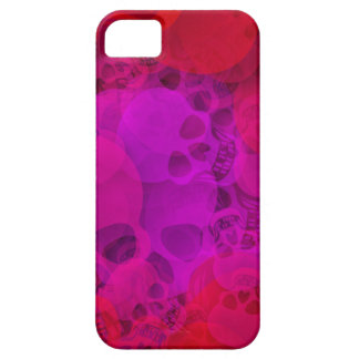 Abstract skulls iPhone 5 cases