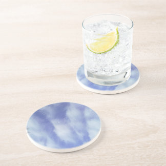 Abstract sky pattern drink coaster