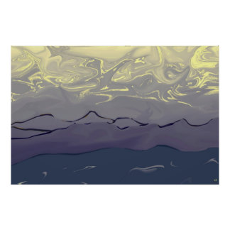 Abstract Sky Poster