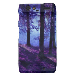 Abstract Small Forest Pond Droid RAZR Case