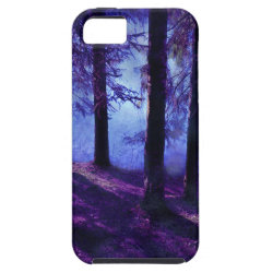 Abstract Small Forest Pond iPhone SE/5/5s Case