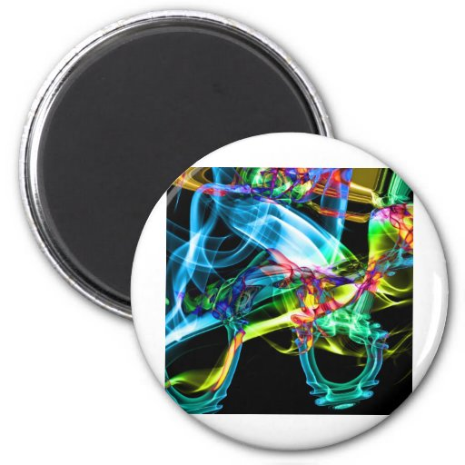 Abstract Smoke Art Photography Magnet