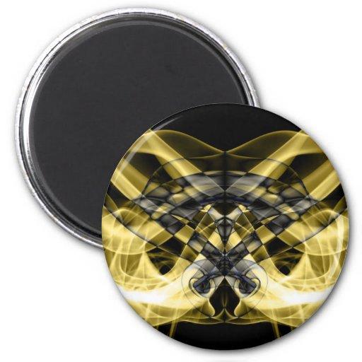 Abstract Smoke Art Photography Magnets