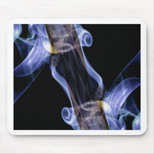 Abstract Smoke Art Photography Mouse Pads