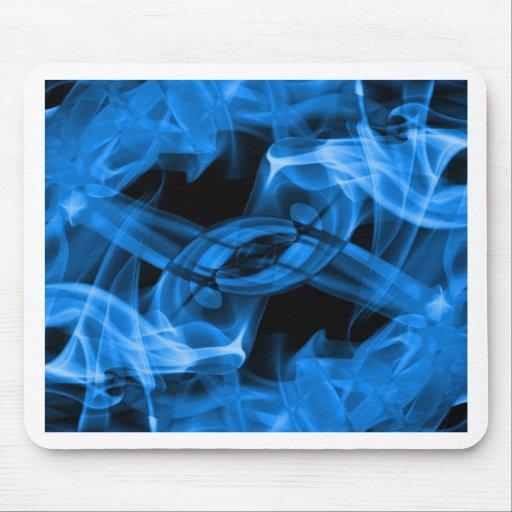 Abstract Smoke Art Photography Mouse Mat