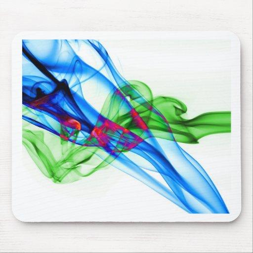 Abstract Smoke Art Photography Mousemat