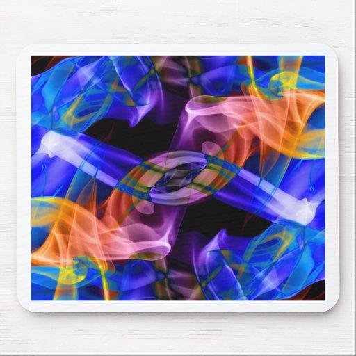 Abstract Smoke Art Photography Mousepads