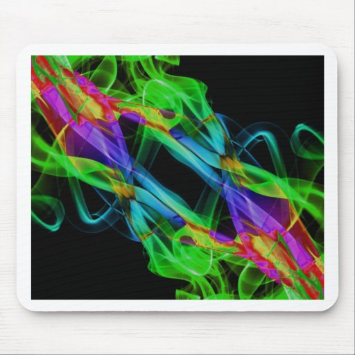 Abstract Smoke Art Photography Mousepad